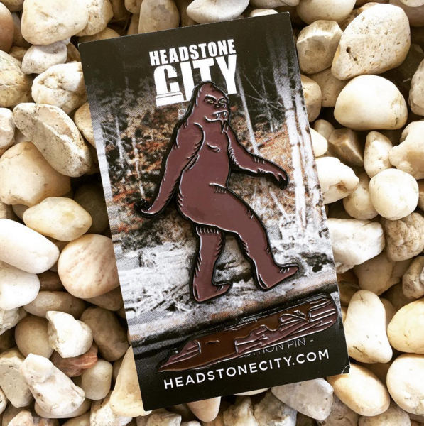 Bigfoot-Enamel-Pin