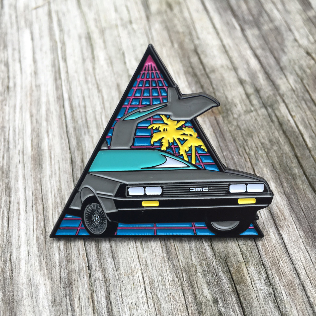 DeLorean-Pin