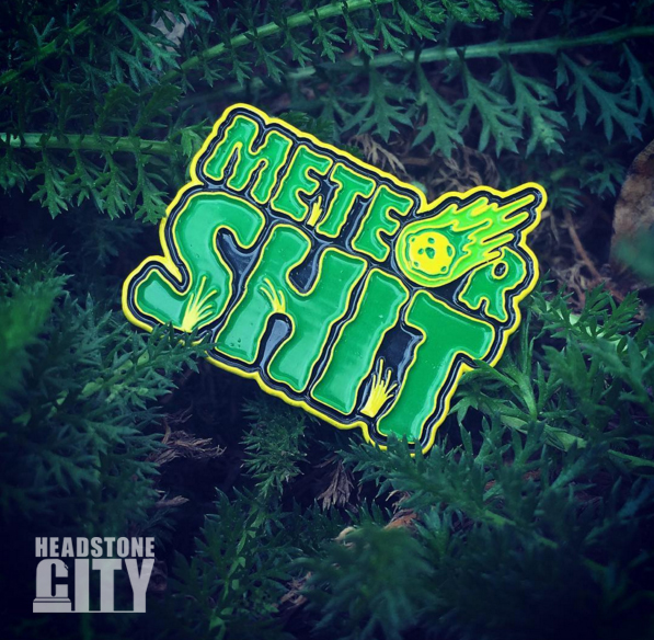 meteorshit-creepshow-pin