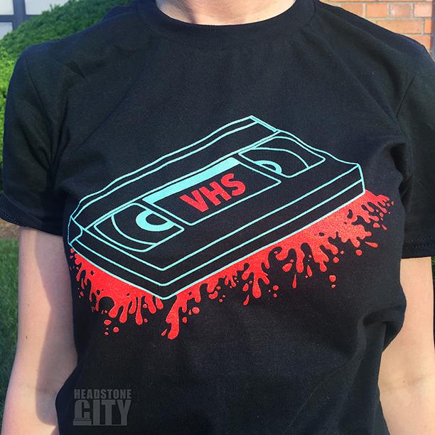 VHS-Horror-Shirt